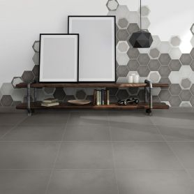 Link Storm Matt Stucco look 600x600 Porcelain Floor & Wall Tiles