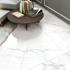 Statuario Bianco Matt 450x900 Porcelain Floor & Wall Tile