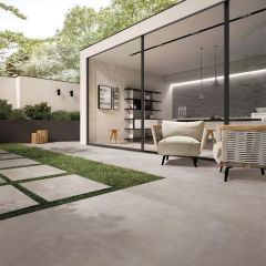 Porcelain Pavers R11 600x600x20mm Midnight Fog