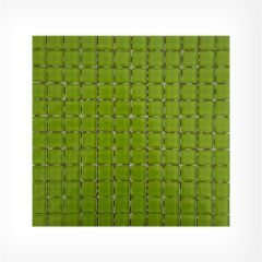 Green Glass Mosaic 23x23 on 300x300mm Sheet