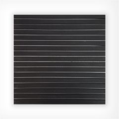 Black Trend Glass Mosaic Satin 300x300mm Sheet