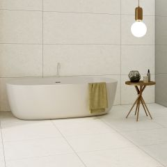 Milazzo White Matt 600x1200 R10 Porcelain Floor Tile