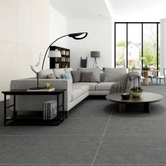 Augusta Dark Grey 600x1200 Matt R10 Porcelain Floor Tile