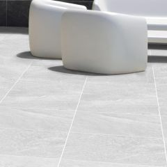 Alps Bianco Matt 300x600mm R10 Porcelain Wall & Floor Tile
