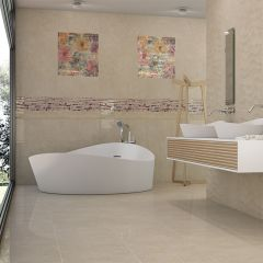 Bora Maxx Beige Polished 300x600mm Wall & Floor Tile