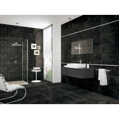 Bora Maxx Nero Matt 600x600mm Wall & Floor Tile