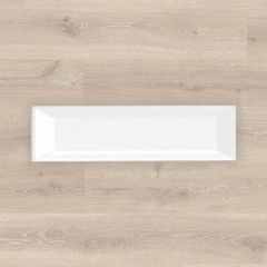 Urban Subway Bevelled White Matt 75x300mm Ceramic Wall Tile
