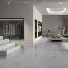 Cement Dark Grey Textured Finish 600x600mm Porcelain Wall & Floor Tile