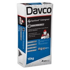 Davco Sanitized Colourgrout — Tumbleweed 15kg