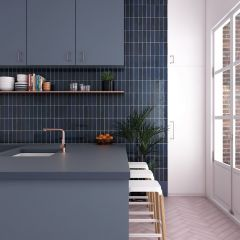 La Riviera Blue Reef Gloss 65x200 Ceramic Subway Wall Tiles