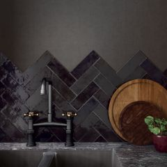 La Riviera Tourmaline Gloss 65x200 Ceramic Subway Wall Tiles