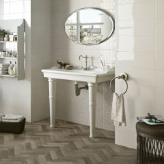 Faubourg Taupe Timber-Look Porcelain Tile 70x280mm