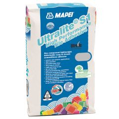 Mapei Ultralite S1 Tile Adhesive Grey 13.5kg