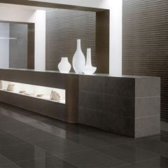 Mars Stone Universe Black Structured 600x600mm R10 Wall & Floor Tile