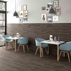 Norden Noce Matt 218x840mm Timber-Look Porcelain Wall & Floor Tile