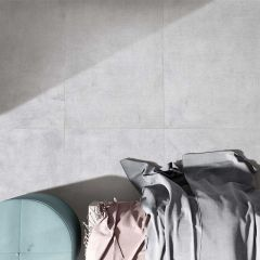 Linen Silk Light Lappato 600x1200mm Porcelain Wall & Floor Tile