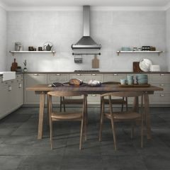 "Horton Anthracite Matt with ""Slip-Stop"" R11 Finish 300x600mm Porcelain Wall & Floor Tile"