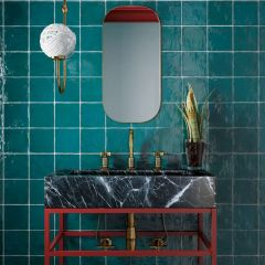 La Riviera Quetzal Gloss 65x200 Ceramic Subway Wall Tiles