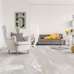 Stone Wave Grey Matt R10 300x600mm Porcelain Wall & Floor Tiles