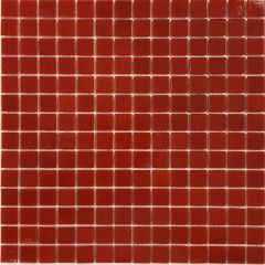 Red Glass Mosaic