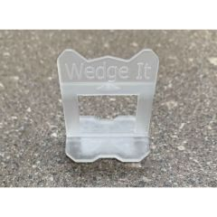 Wedge It Tile Levelling System - Base Clips/Spacers 1.5mm - Pack of 500